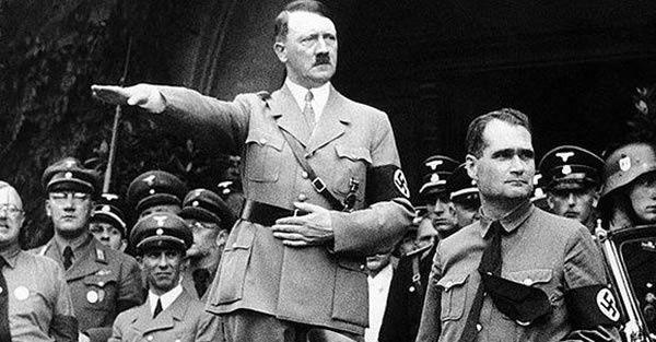 Adolf Hitler et Rudolf Hess - Reinhard Heydrich