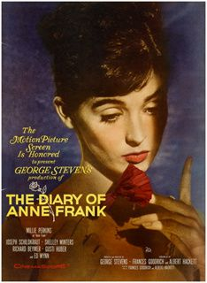 Le Journal d'Anne Frank de George Stevens - Millie Perkins - Shelley Winters - Joseph Schildkraut - Richard Beymer - Diane Baker - Lou Jacobi - Ed Wynn - Gusti Huber - Douglas Spencer - Dodie Heath