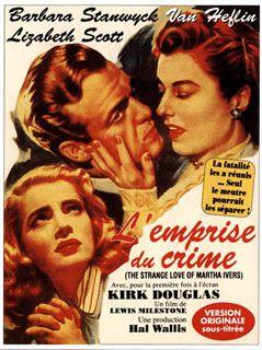 L'Emprise du crime de Lewis Milestone avec Barbara Stanwyck