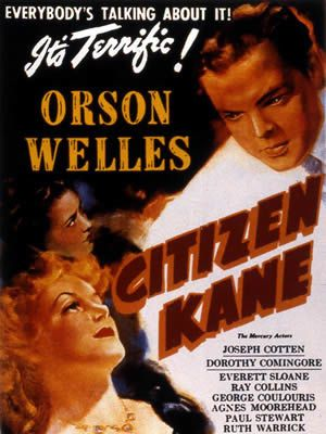 Citizen Kane de et avec Orson Welles - Joseph Cotten - Ruth Warrick - Agnes Moorehead - Dorothy Comingore - Ray Collins - William Alland - George Coulouris - Paul Stewart