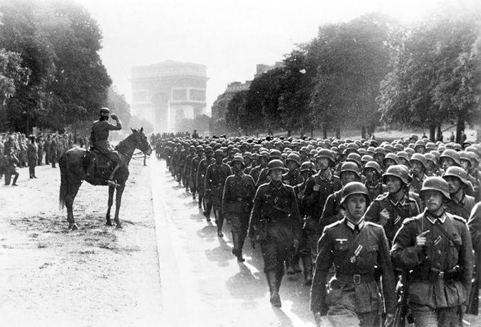 Défilé de la Wehrmacht