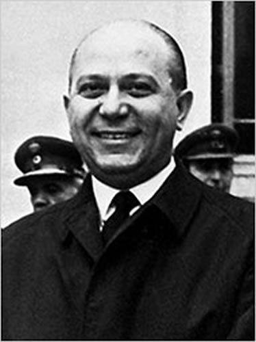 Pattakos, Papadopoulos et Makarezos, chefs de la junte militaire de 1967 à 1974 - Geórgios Papadópoulos - Stylianós Pattakós - Nikolaos Makarezos