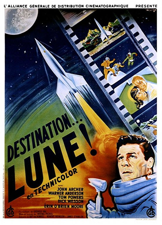 Destination... Lune ! d'Irving Pichel avec John Archer - Warner Anderson - Dick Wesson - Tom Powers - Erin O'Brien-Moore