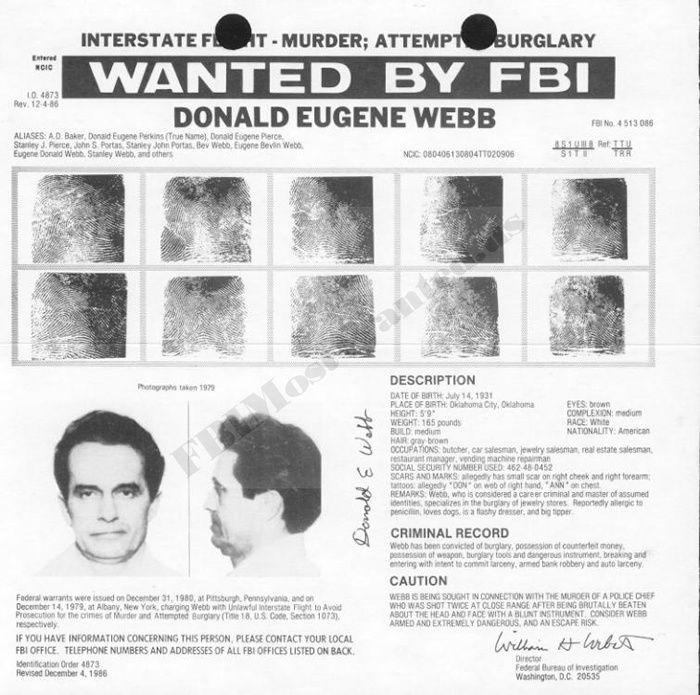 Webb Donald Eugene