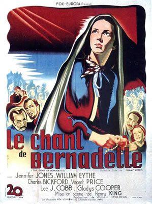 Casablanca - Ceux qui servent en mer - Le Chant de Bernadette - Le ciel peut attendre - Et la vie continue - L'Étrange Incident - Madame Curie - Plus on est de fous - Pour qui sonne le glas