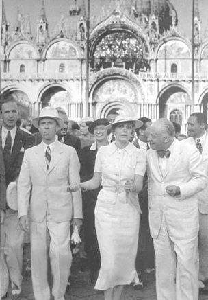 Magda Goebbels ses enfants et Joseph Goebbels