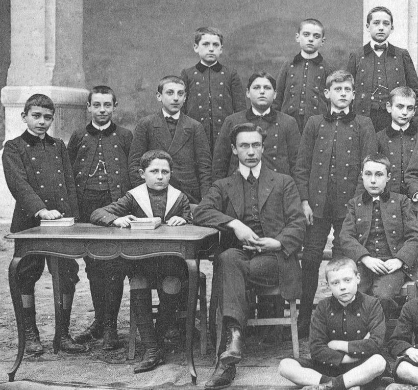 L'Ecole libre Saint-Joseph d'Avignon en 1911-1912