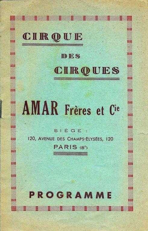 La communication Amar dans les années 50