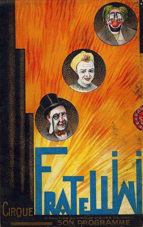 Les Premières tournées du Cirque d'Hiver Voyageur