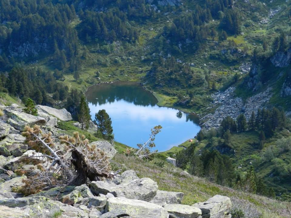 Laissez défilé les photos - Les étangs de Rabassoles, le premier est à 1851m d'altitude, il vous faut entre 1 h et 1 h 15 pour l'atteindre, vous avez la possibilité de vous rendre au deux autres étangs le bleu et le noir qui sont séparé chacun d'une quinzaine de minutes de marche, le plus haut le noir, est à 1970 m d'altitude pour un dénivelé de 340 m. Vous y verrez peut-être nos célèbres marmottes et vous y ferez surement quelques truites fario pour les deux premiers étangs et des omble chevalier pour le noir.