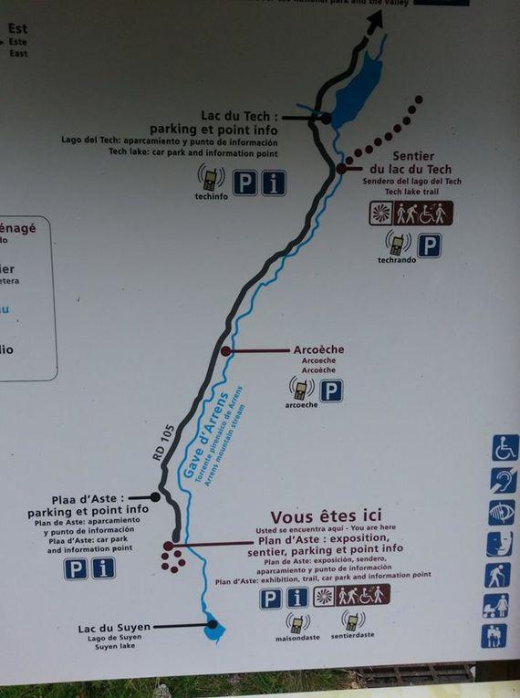 Le lac de Suyen est à 1535 m d'altitude, il vous faudra 20 mn pour l'atteindre avec un dénivelé de 70 m, rien de compliqué au départ du barrage du Tech. Au niveau truite on trouve de la fario, c'est assez bien peuplé mais pas en truites de belle tailles. Une rando facile à faire en famille