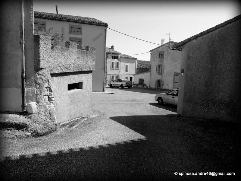 les chemins de photos : les villages s'exposent en grand format