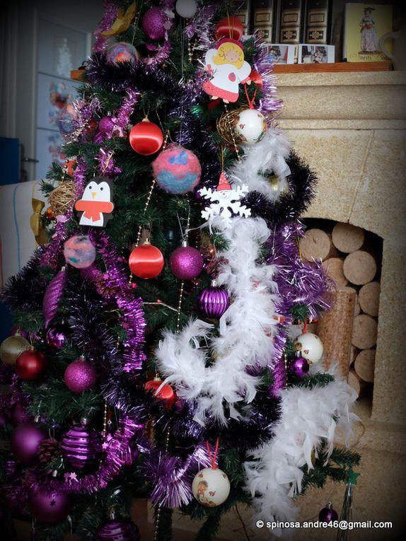 noël 2017 : crèche, arbre...en famille