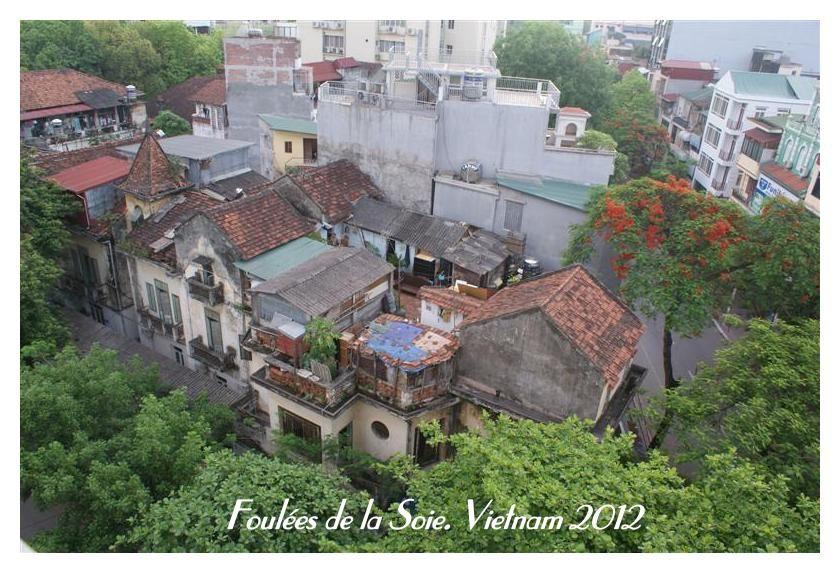 Foulées du Vietnam 2012. Retour sur Hanoi et départ.