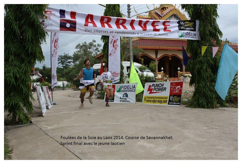 Foulées du Laos 2014. Autres photos des courses.