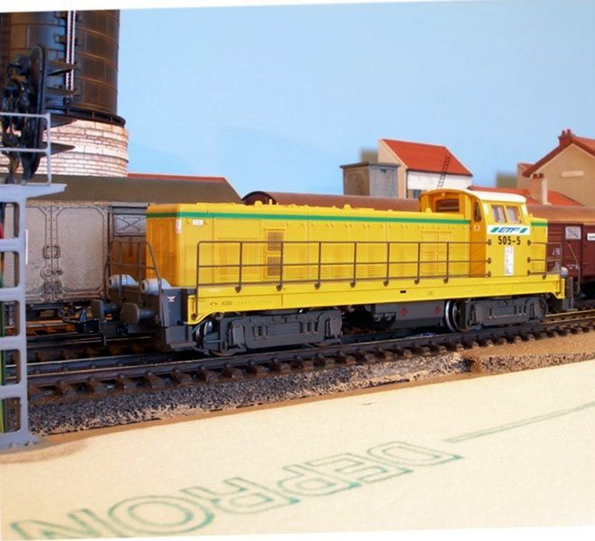 BB63000 Colas Rail sur base Piko ETF