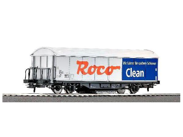 """Wagon nettoyeur de voies """"Colas Rail"""" sur base Roco Clean"""
