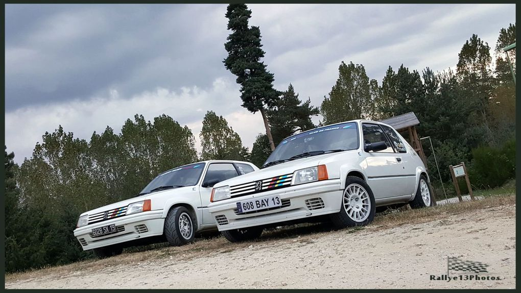 Concentr'nationale 2016 du 205 Rallye Club de France