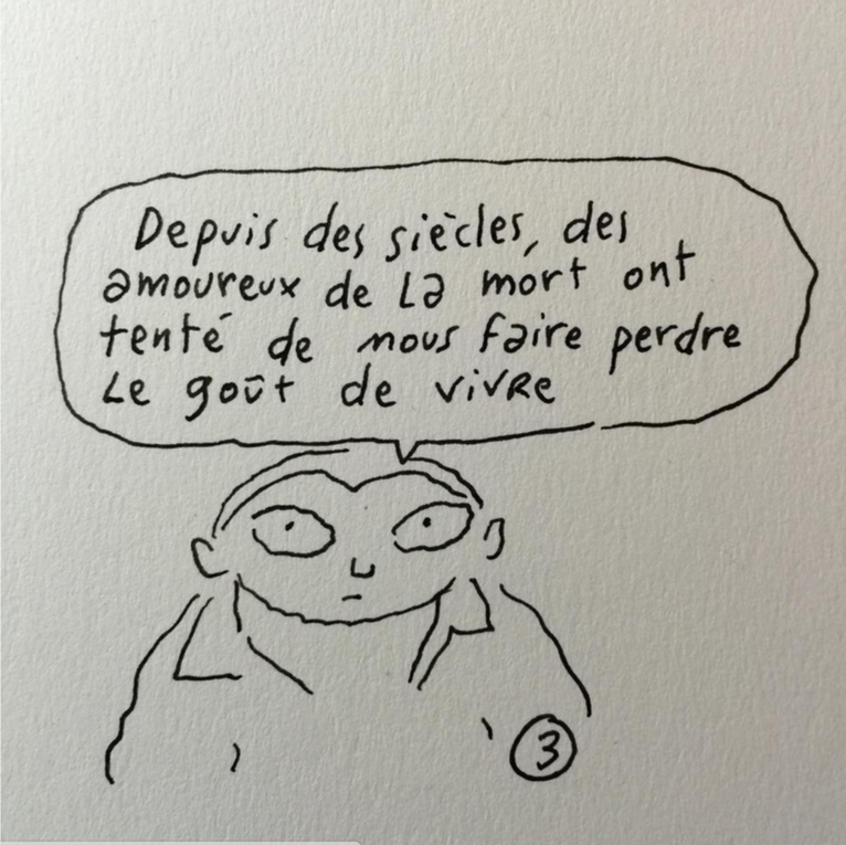 Dessins de Joann Sfar en réaction aux attentas de Paris du 13 novembre 2015 - Joann Sfar (via Instagram)