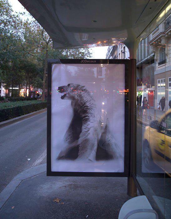 Opération Brandalism #COP21Paris