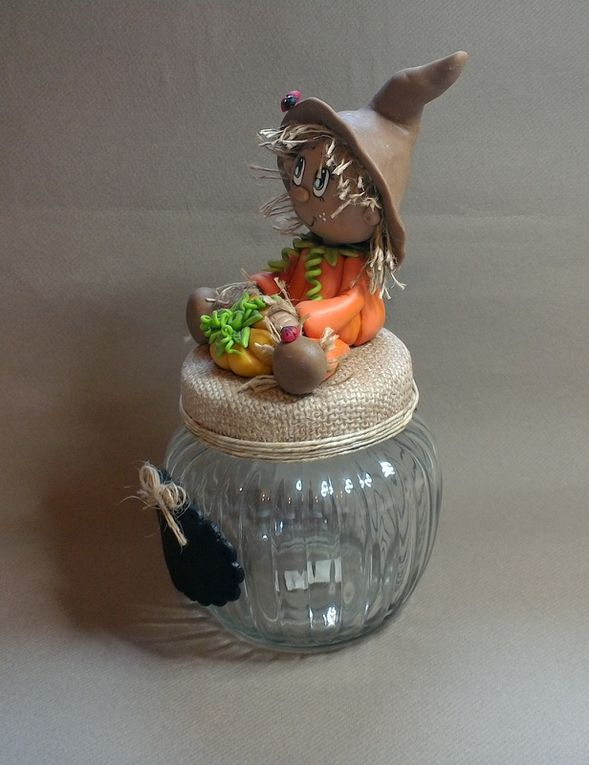 Kit de modelage porcelaine froide avec M.Citrouille
