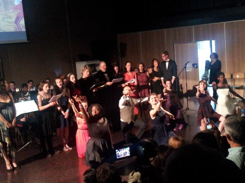 Comédie musicale &quot&#x3B;Jazz et Cinéma&quot&#x3B; au lycée