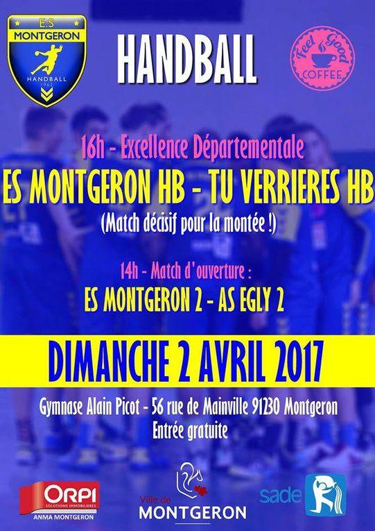Victoire de l' ES Montgeron Handball