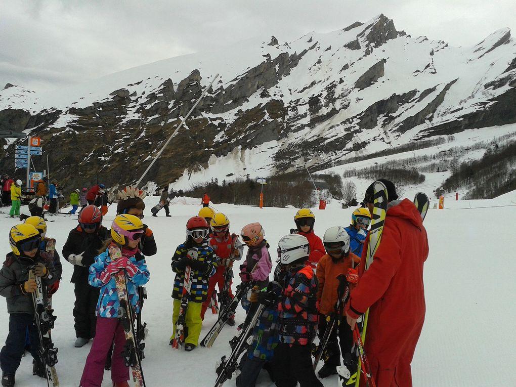 1ère matinée de ski