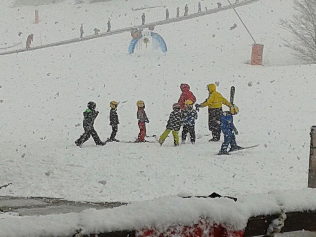 Nos champions sous la neige