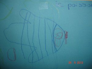 Écrire c'est un peu dessiner et inversement (avec les enfants de moyenne section de maternelle)