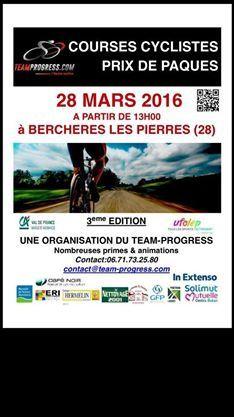 Album photos des courses UFOLEP 1 et 2 de Berchères Les Pierres (28)
