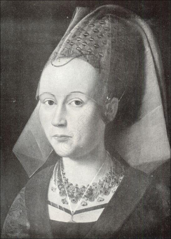 Charles le Téméraire et Marguerite d'York. Cartes de la France et de la Bourgogne en 1477