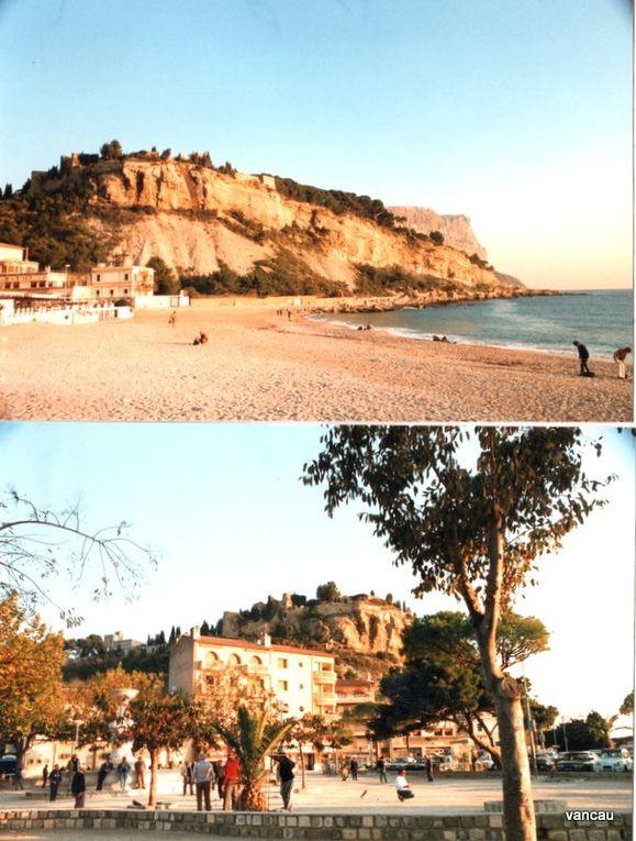 Graveson, La Côte bleue, Clermont sur Herault, Moulin de Daudet, Lac de Salagou, Martigues, Cassis,.Marseille, Arles, Les Baux