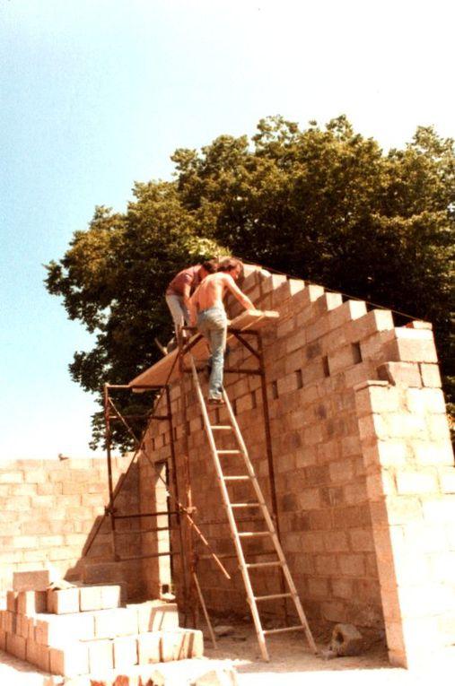 Les travaux de reconstruction en 1979