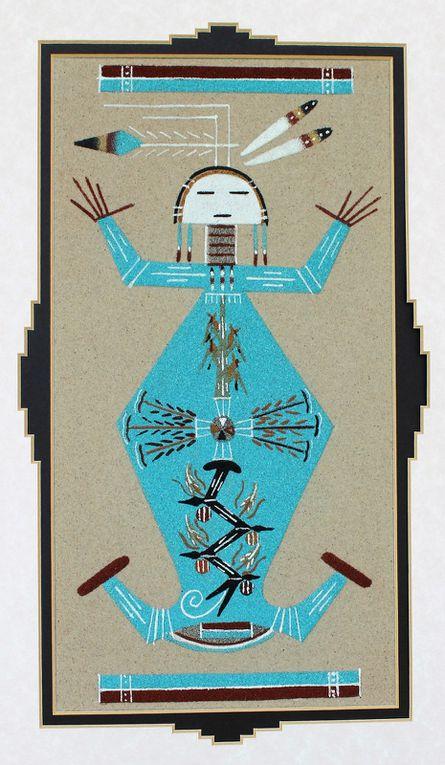 Auxerre : Spiritualité et rites guérisseurs des indiens navajos,  juin - juillet 2017