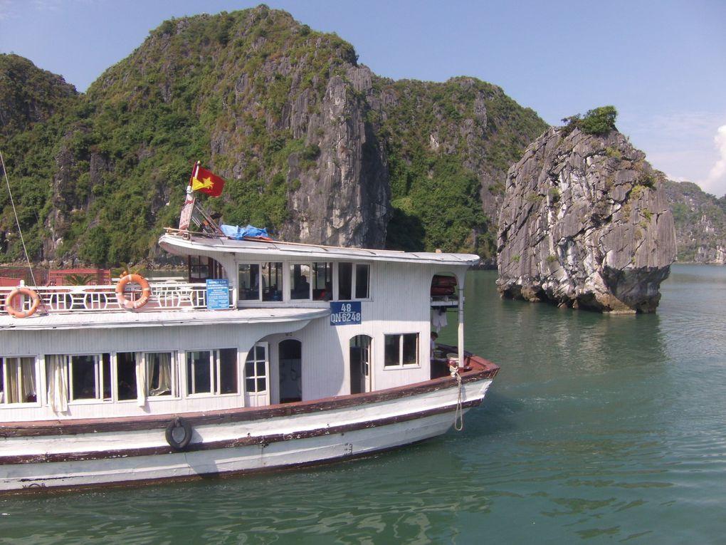 Voyage au Vietnam...... Quatrième jour, Halong puis retour à Hanoi.