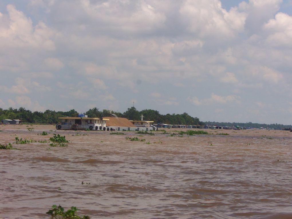 Voyage au Vietnam..... Neuvième jour, balade dans le delta du Mékong et fin du séjour au Vietnam.