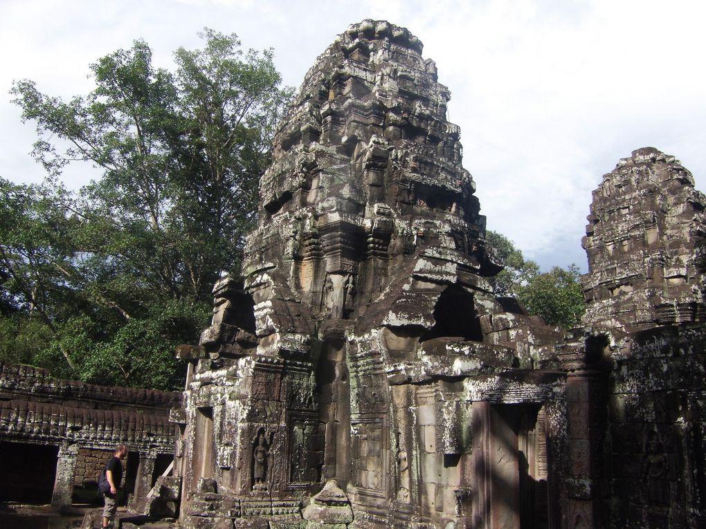 Voyage à Angkor...2ème journée (suite),Temples de Ta Prom, Banteay Kdei et autres...