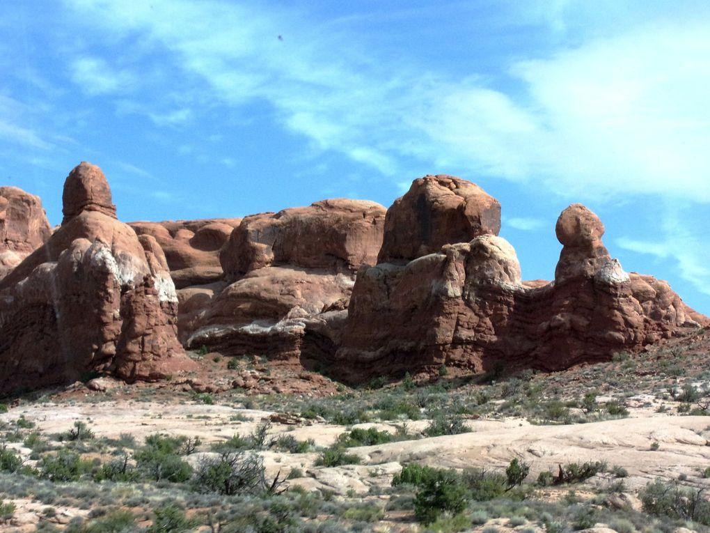 Voyage en Amérique ..... De Moab à Salt Lake City.