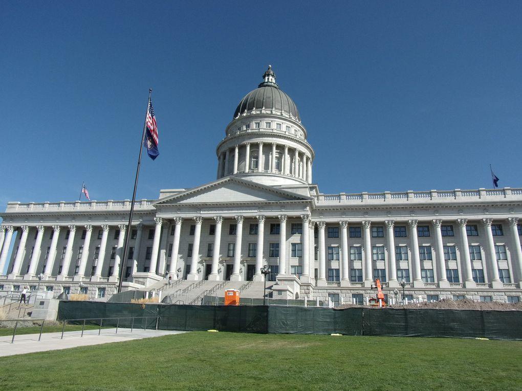 Voyage en Amérique... De Salt Lake City à Pocatello.