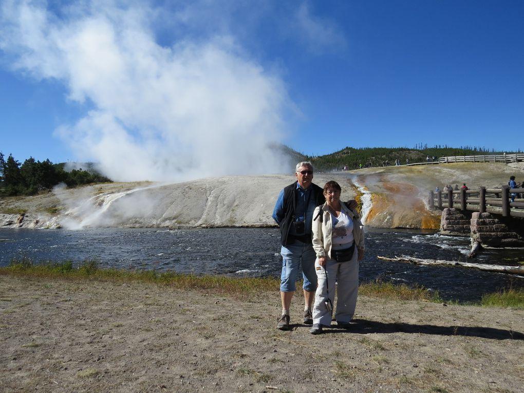Voyage en Amérique… De Pocatello à Yellowstone (1er jour)  puis Idaho Falls.