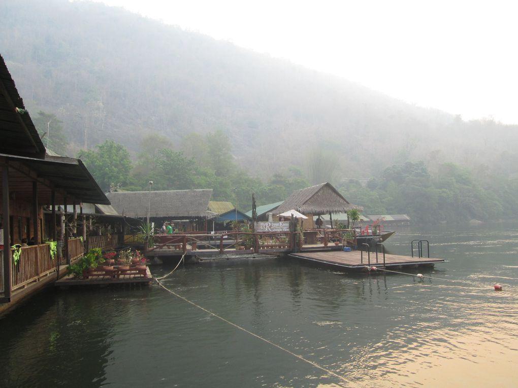 Voyage en Thaïlande ....... Le pont de la rivière Kwaï.