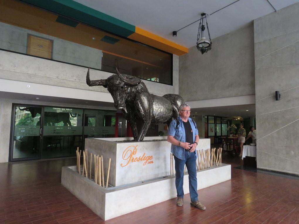 Voyage en Thaïlande.....  Entre Chiang Rai à Chiang Mai, le Triangle d'or.