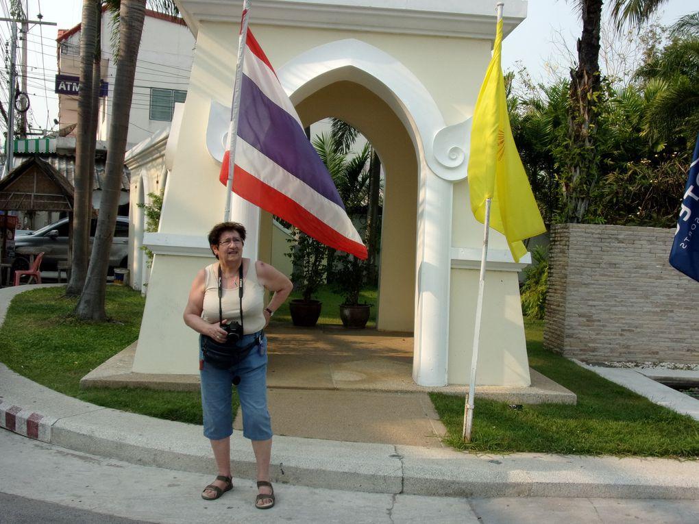 Fin du voyage en Thaïlande..... Visite du Wat Phra Kéo à Bangkok puis trois jours de farniente à Cha Am.