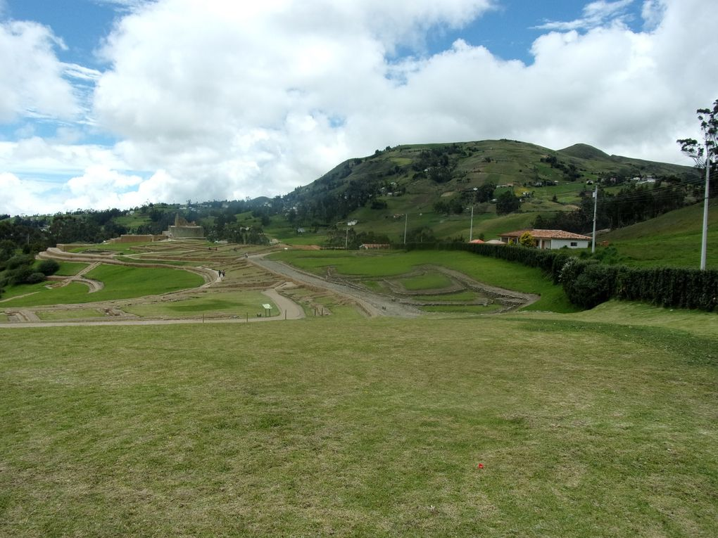 Voyage en Equateur ..... Alausi, le train des Andes, le site Inca d'Ingapirca et Cuenca.