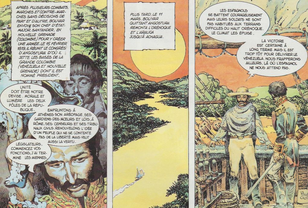 Histoire de rôle....... Simon Bolivar, El Libertador.