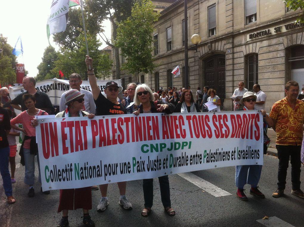 20.000 manifestants à Paris pour arrêter le massacre des Palestiniens