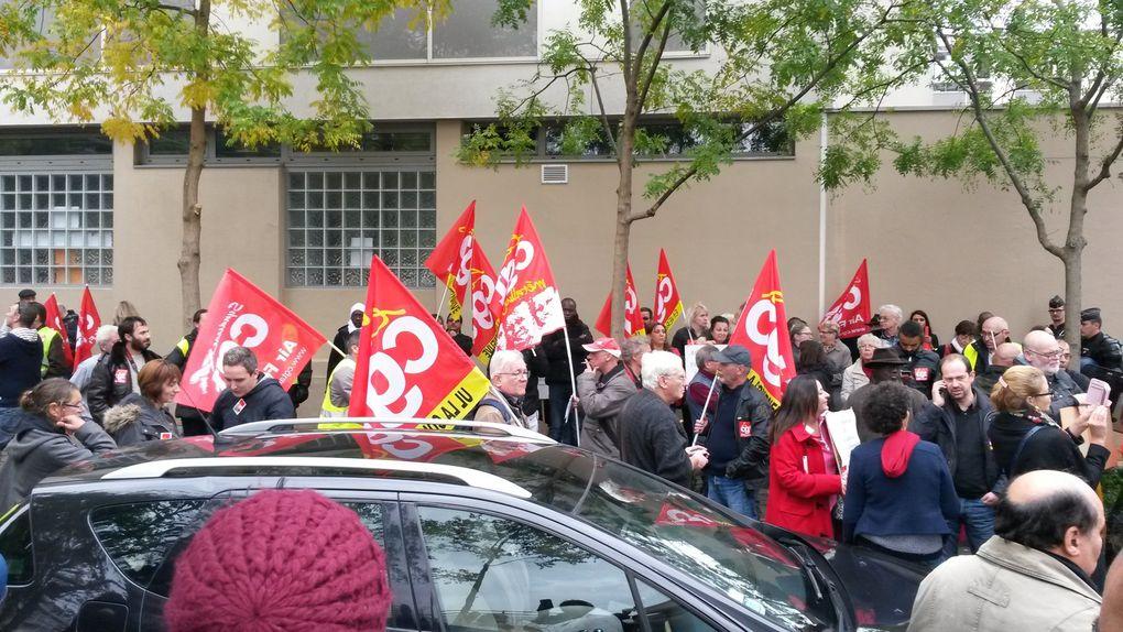 François Hollande à La Courneuve : le &quot&#x3B;dialogue social&quot&#x3B; très policé !