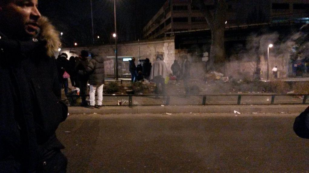 Encore une Nuit Dehors par grand froid pour de nombreuses personnes, malgré la communication des ministres Emmanuelle Cosse et Bruno Le Roux