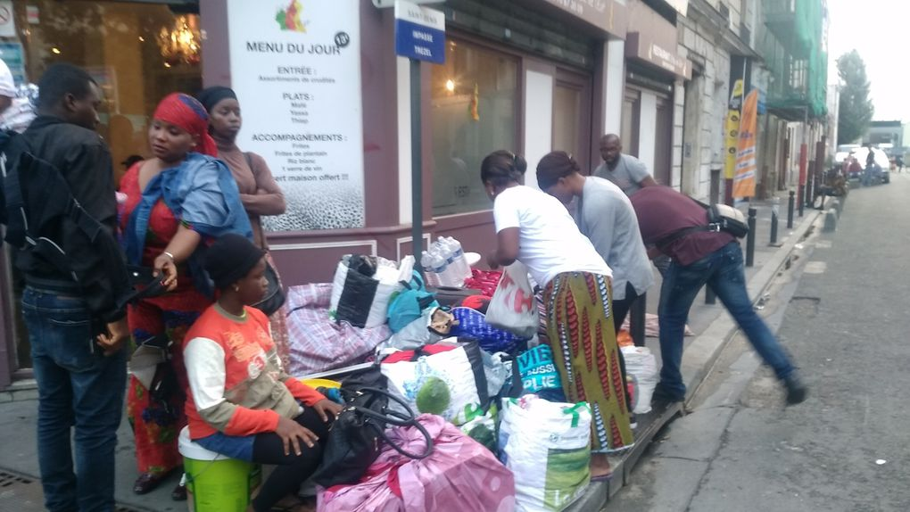 Les occupants de l'hôtel du Cheval-Blanc à la Plaine Saint-Denis réinstallés et à nouveau expulsés !